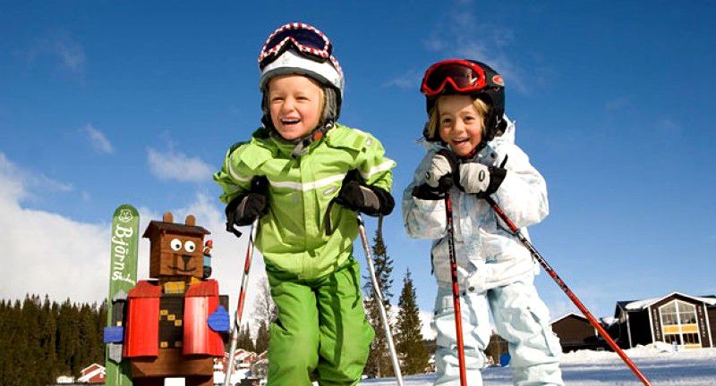 ski in sweden